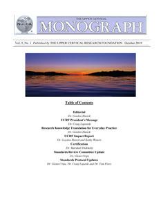 Fall Monograph 2019